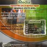 Desain: Poster Pendaftaran Pesantren Media