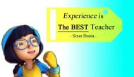 Permalink ke Quote, Experience is…