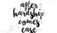 Permalink ke After Hardship Comes Ease