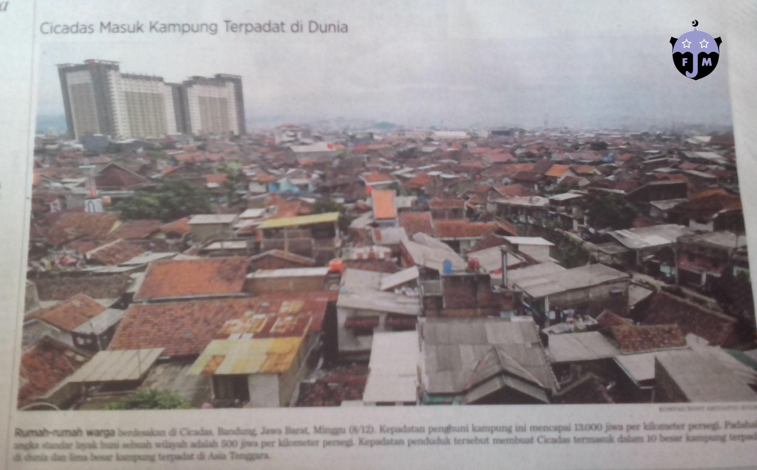 Permalink ke Photo of The Week: Kampung Terpadat di Dunia