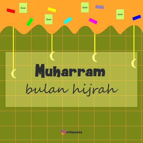 Design: Muharram Bulan Hijrah