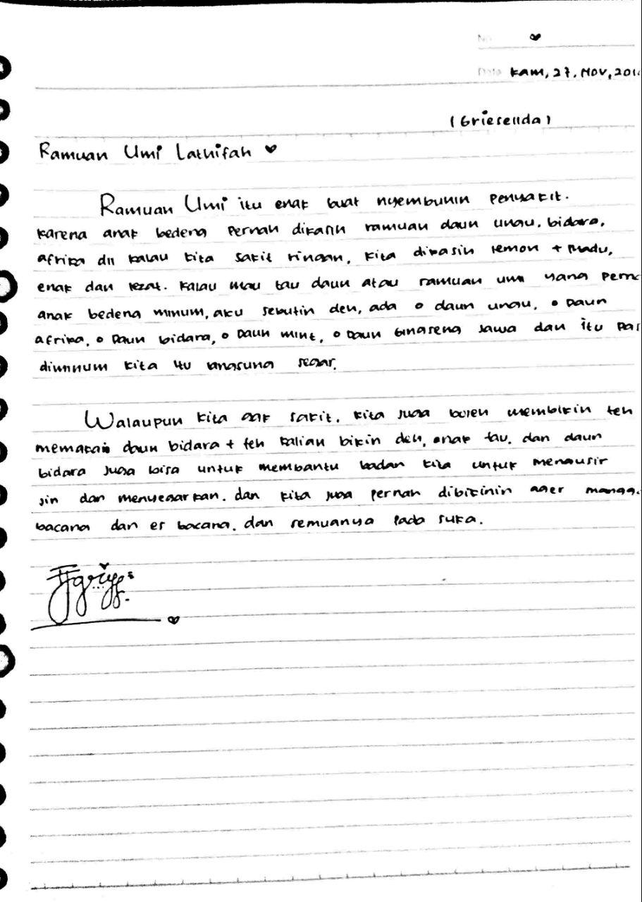 Permalink ke Ramuan Umi Lathifah